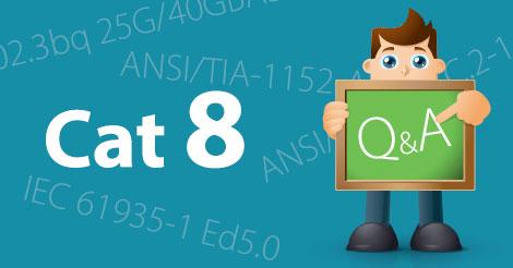 Category 8 kábelezés mérése – kérdések/válaszok