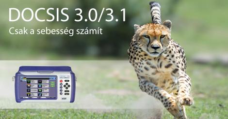 DOCSIS 3.1 képesség a VeEX VePAL CX3x0s KTV analizátorokban