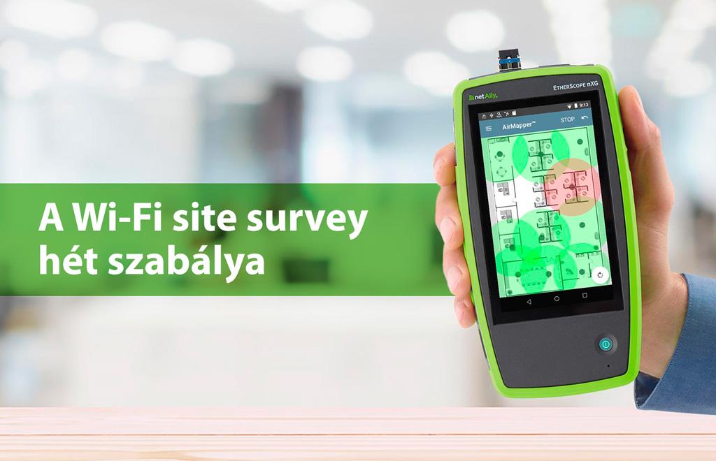 A Wi-Fi site survey hét szabálya