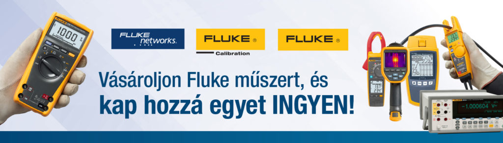 Vásároljon Fluke műszert, és kap hozzá egyet INGYEN!