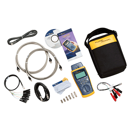 Fluke Networks CableIQ Qualification Tester for Residential (CIQ-KRQ)
