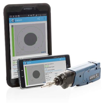 EXFO FIP-400B vezeték nélküli optikai szálvizsgáló videó mikroszkóp