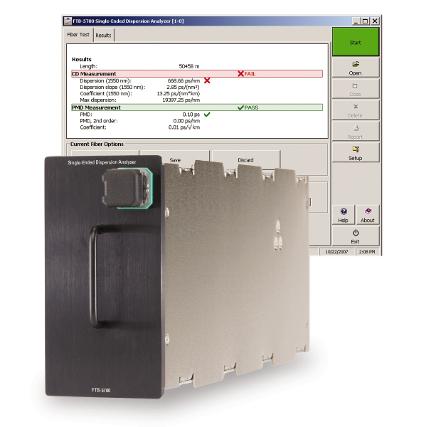 EXFO FTB-5700 Egyoldalas CD/PMD analizátor modul