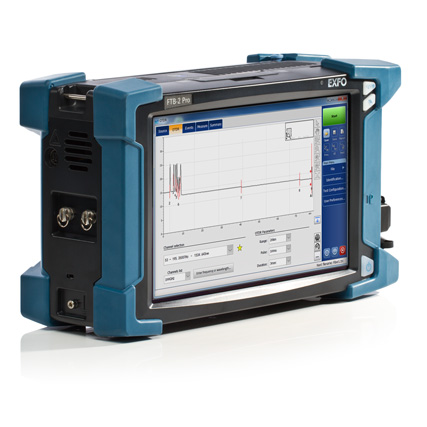 EXFO FTBx-740C-DWC hangolható DWDM OTDR modul