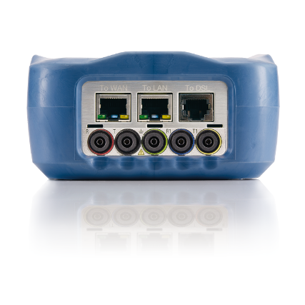 EXFO MaxTester 635 Réz, xDSL minősítő mérőműszer