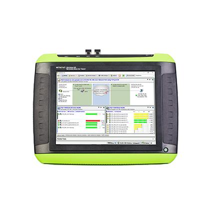Fluke Networks Optiview® XG hordozható hálózati analizátor