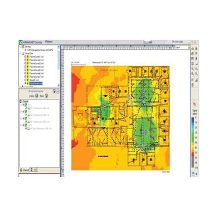NETSCOUT AirMagnet Planner™ WiFi hálózattervező szoftver