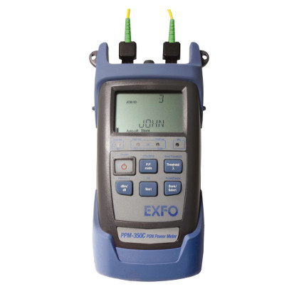 EXFO PPM-350C PON hálózatos optikai teljesítménymérő