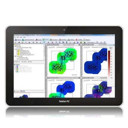 Fluke Networks AirMagnet Survey™ WiFi feltérképező szoftver
