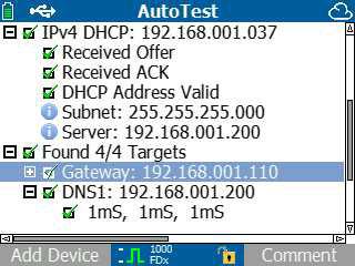 Működő DHCP és DNS szolgáltatás